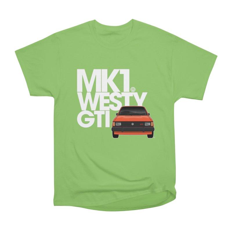 Golf GTI MK1 Westy Women's Heavyweight Unisex T-Shirt by Apparel By AB