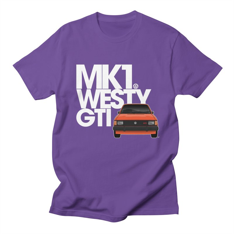 Golf GTI MK1 Westy Women's Regular Unisex T-Shirt by Apparel By AB