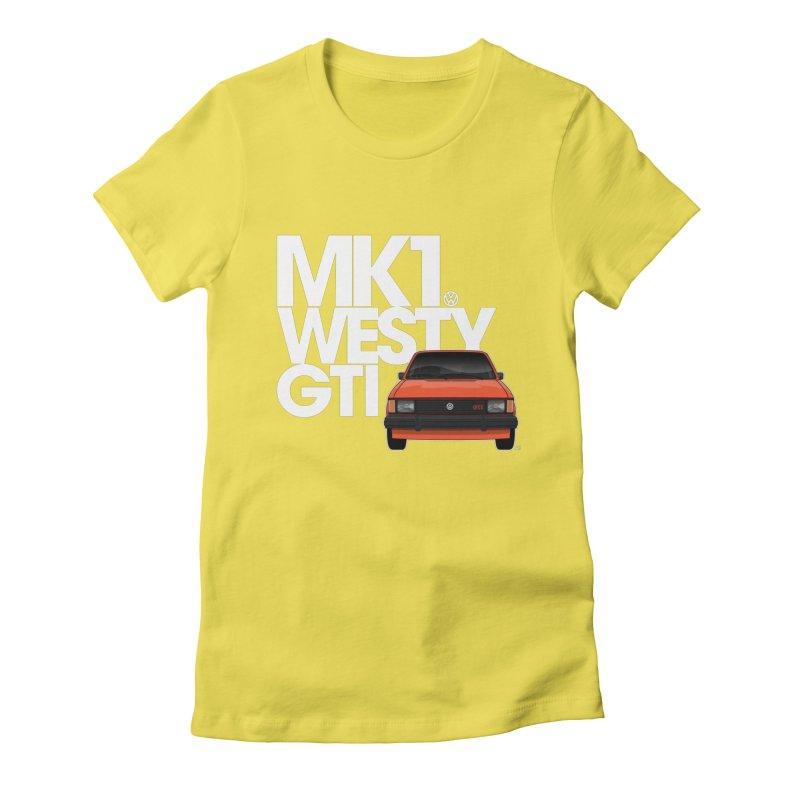 Golf GTI MK1 Westy Women's T-Shirt by Apparel By AB