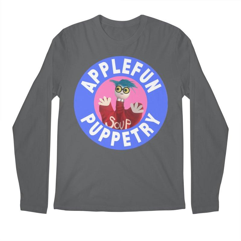 Applefun Puppetry - Andy Men's Longsleeve T-Shirt by Applefun's Artist Shop