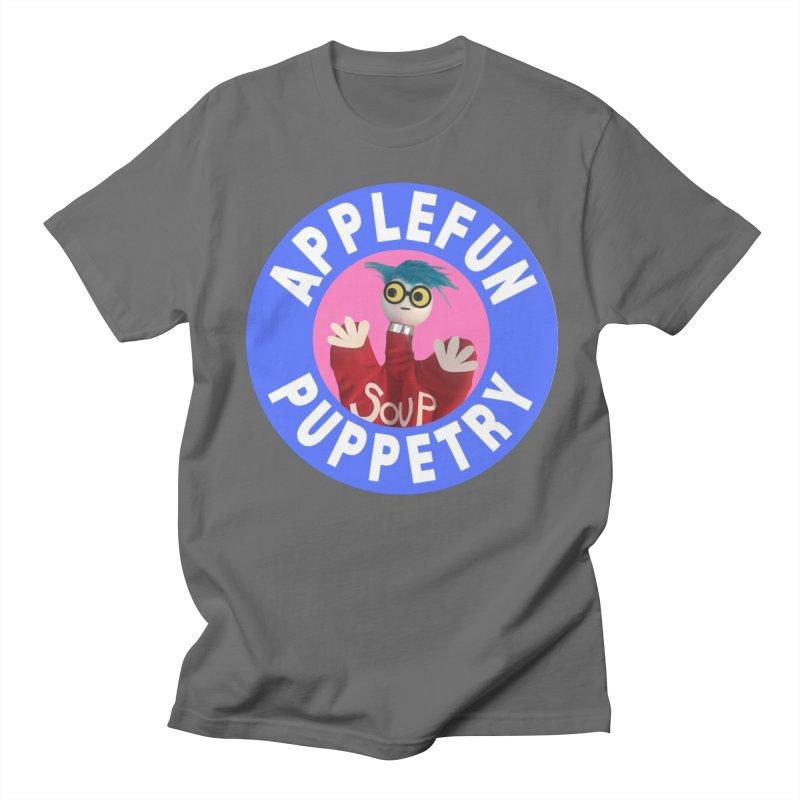 Applefun Puppetry - Andy Men's T-Shirt by Applefun's Artist Shop