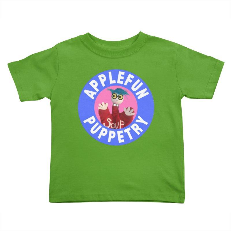Applefun Puppetry - Andy Kids Toddler T-Shirt by Applefun's Artist Shop