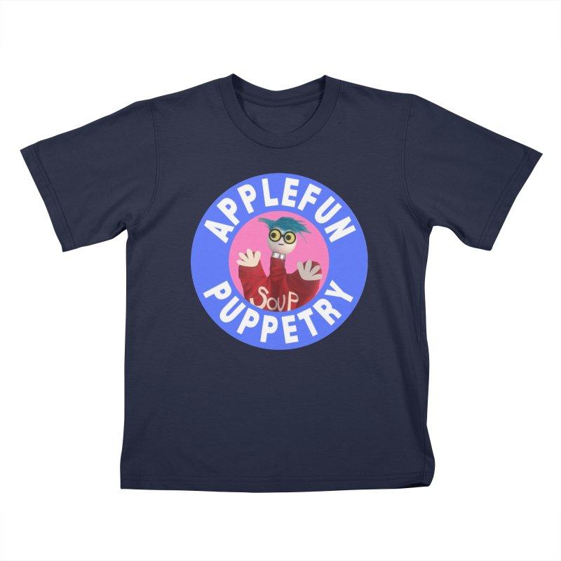 Applefun Puppetry - Andy Kids T-Shirt by Applefun's Artist Shop