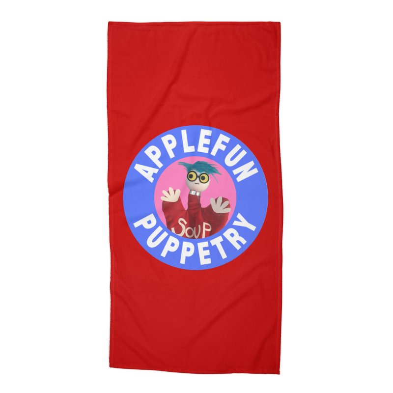 Applefun Puppetry - Andy Accessories Beach Towel by Applefun's Artist Shop