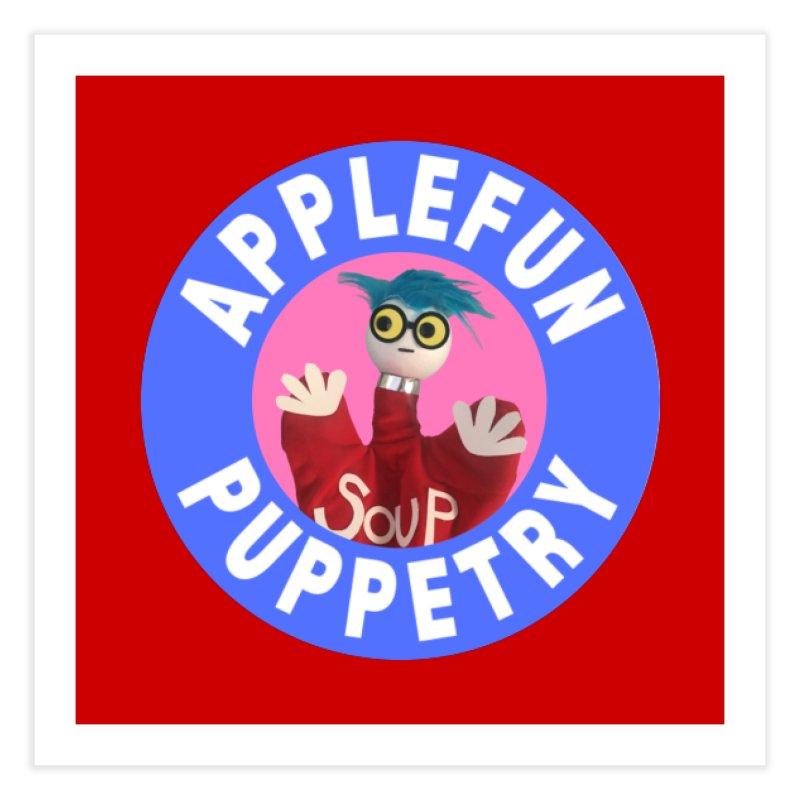 Applefun Puppetry - Andy Home Fine Art Print by Applefun's Artist Shop