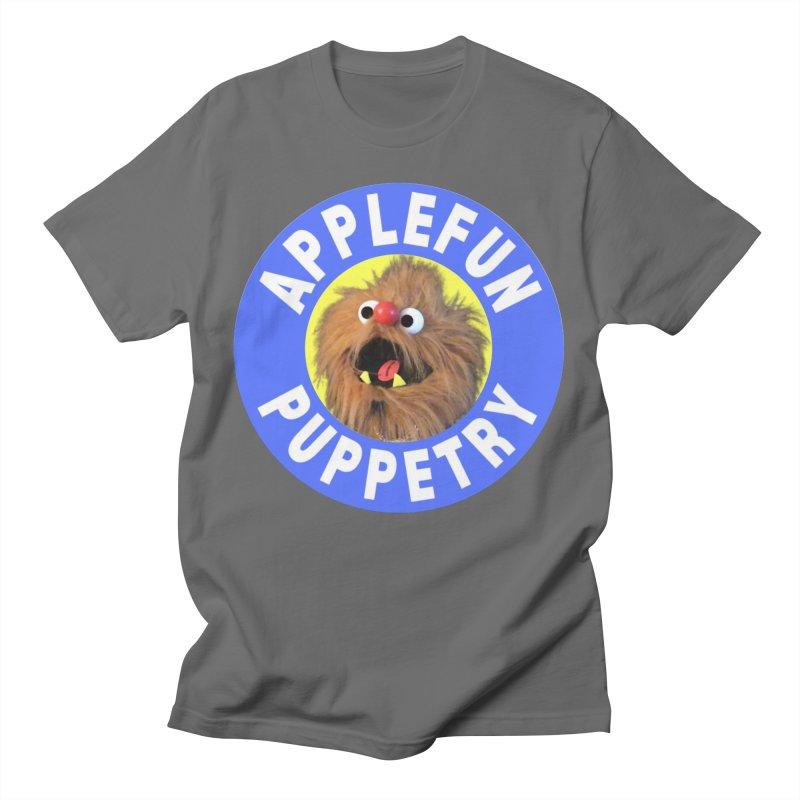 Applefun Puppetry - Moondog Men's T-Shirt by Applefun's Artist Shop