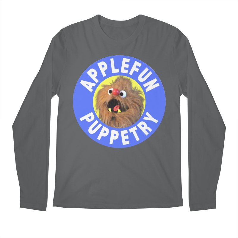 Applefun Puppetry - Moondog Men's Longsleeve T-Shirt by Applefun's Artist Shop
