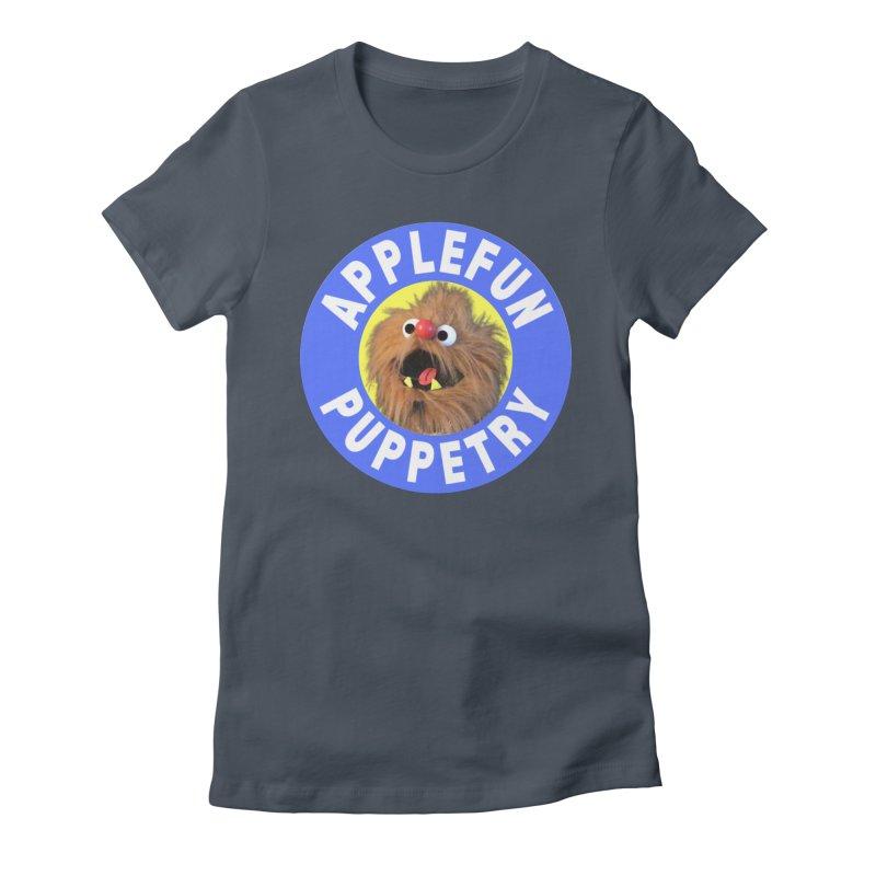 Applefun Puppetry - Moondog Women's T-Shirt by Applefun's Artist Shop
