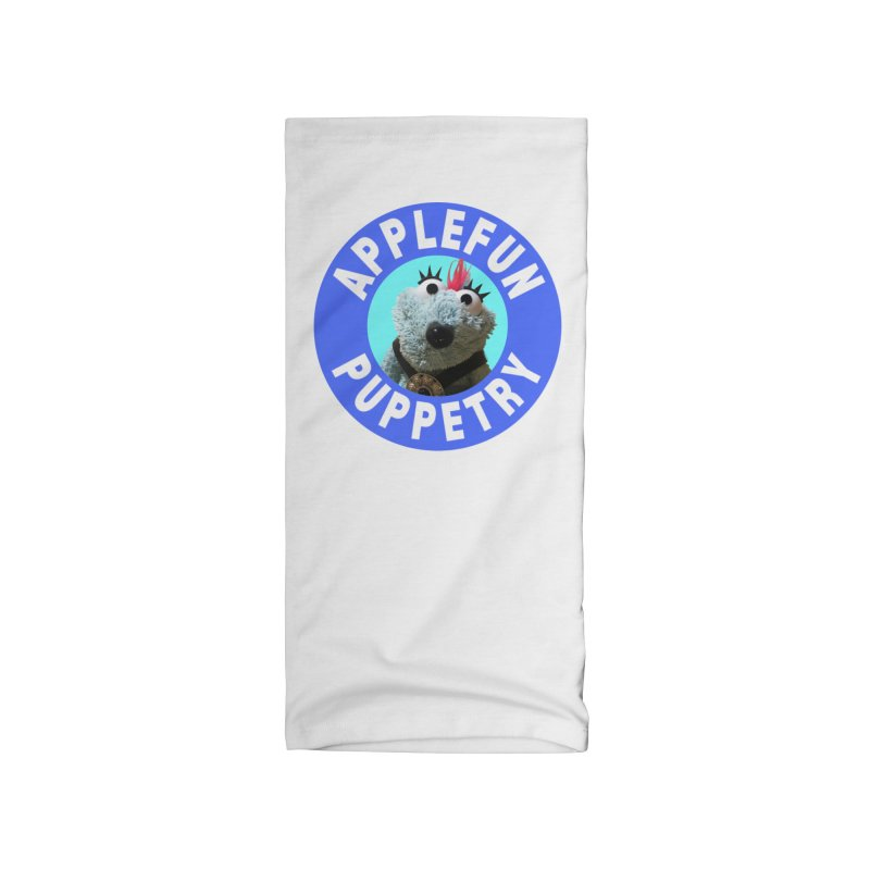 Applefun Puppetry - Doctor Bluecheese the Time Traveling Barbarian Accessories Neck Gaiter by Applefun's Artist Shop