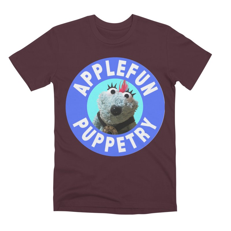 Applefun Puppetry - Doctor Bluecheese the Time Traveling Barbarian Men's T-Shirt by Applefun's Artist Shop