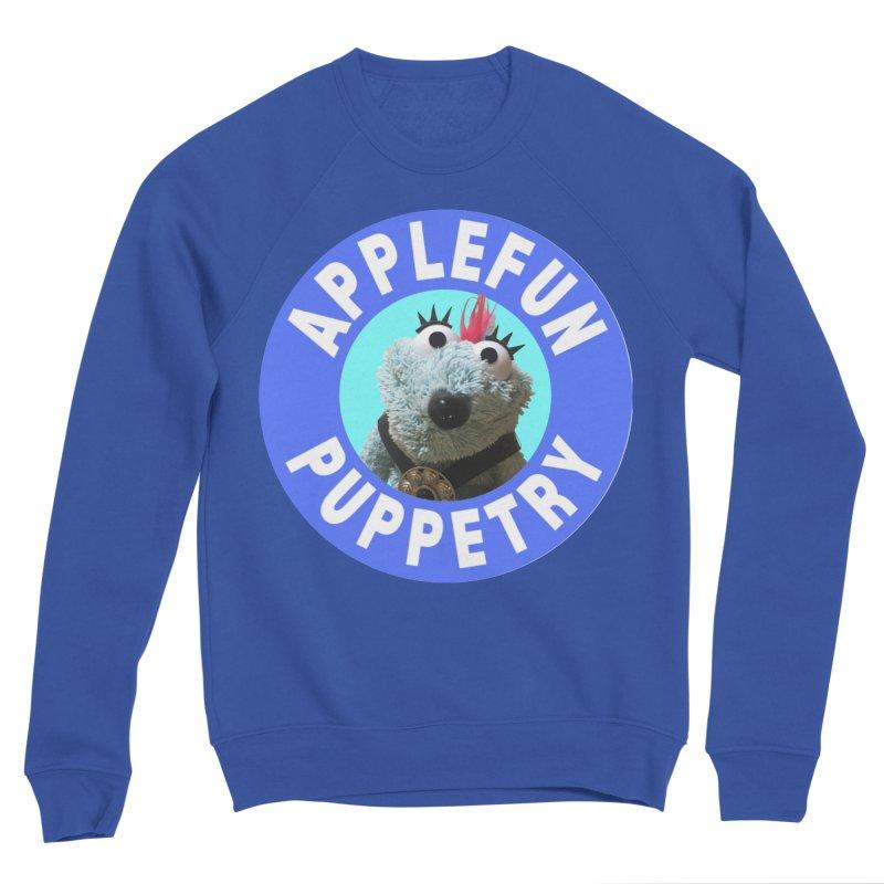 Applefun Puppetry - Doctor Bluecheese the Time Traveling Barbarian Women's Sweatshirt by Applefun's Artist Shop