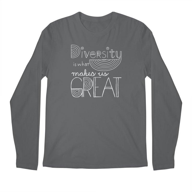 Diversity Makes Us Great - White   by April Marie Mai's Shop