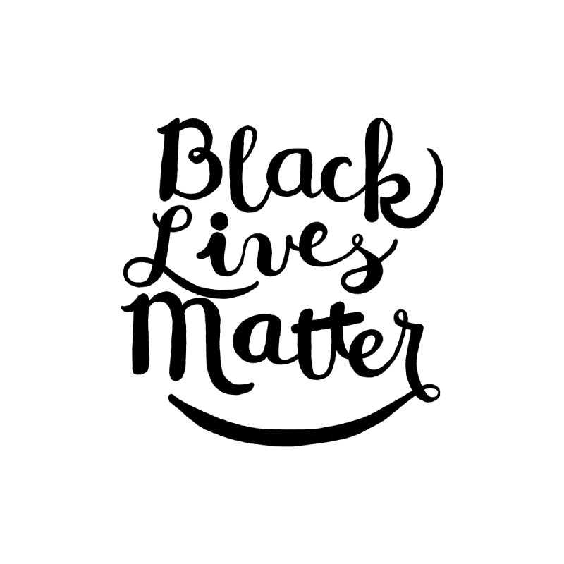 Black Lives Matter - Black Text None  by April Marie Mai's Shop