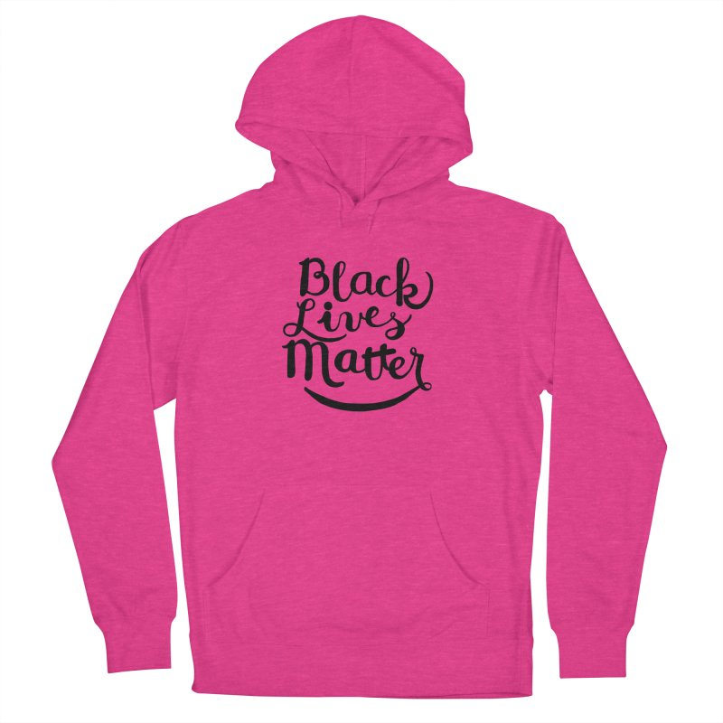 Black Lives Matter - Black Text Women's Pullover Hoody by April Marie Mai's Shop