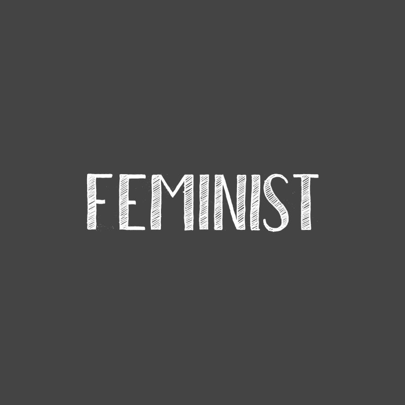 Feminist in White by April Marie Mai's Shop