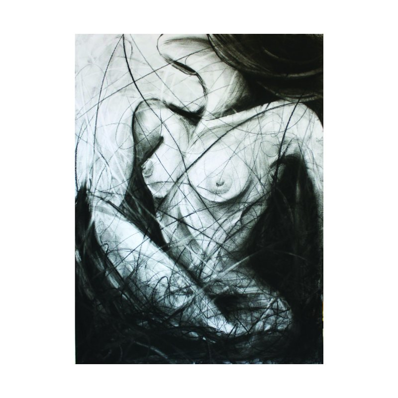 Nude Home Framed Fine Art Print by ARIOM