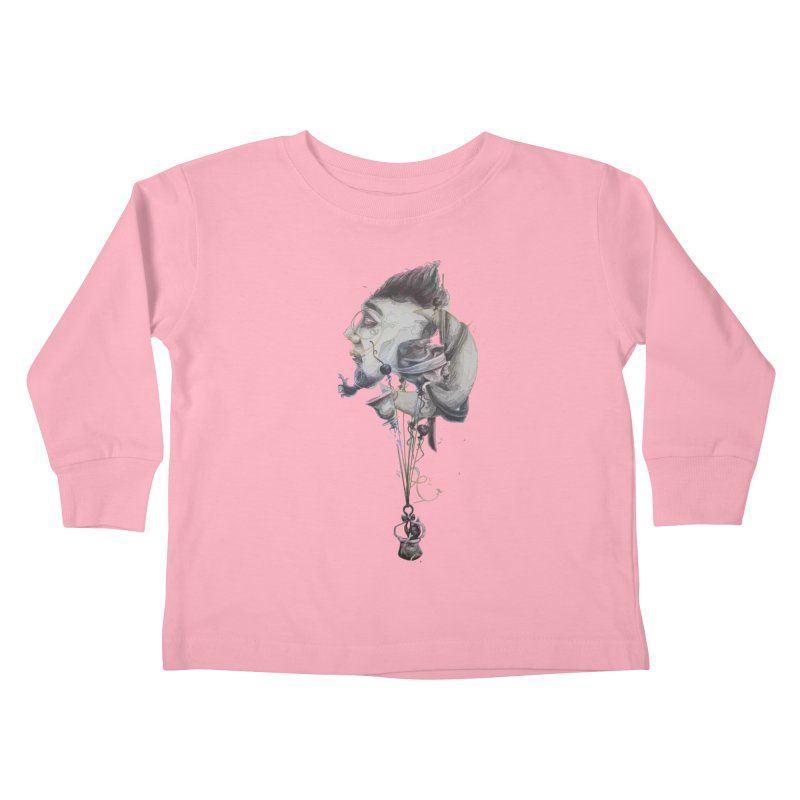 UNUSUAL BALLOONS Kids Toddler Longsleeve T-Shirt by ARIOM