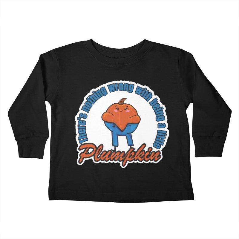 Plumpkin Kids Toddler Longsleeve T-Shirt by ARIOM
