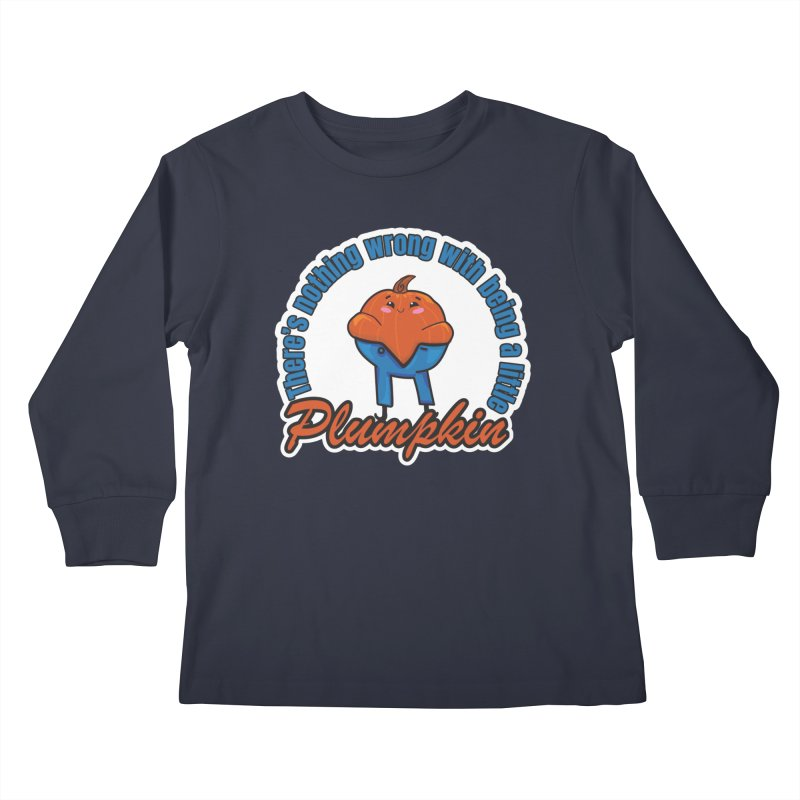 Plumpkin Kids Longsleeve T-Shirt by ARIOM