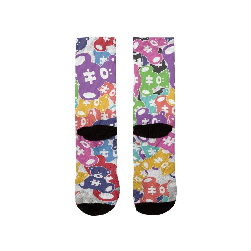 Autibomb Men's Socks by #AutiWear   Arizona Autism's Merch Shop