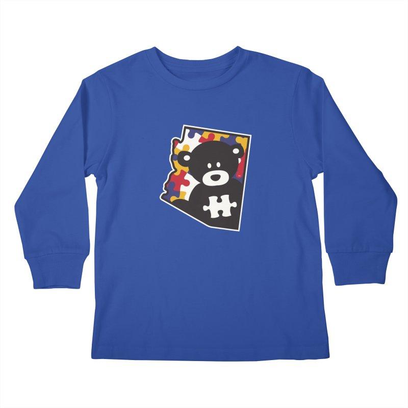 Autizona Kids Longsleeve T-Shirt by #AutiWear | Arizona Autism's Merch Shop