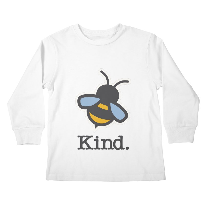 Be Kind. Kids Longsleeve T-Shirt by #AutiWear   Arizona Autism's Merch Shop