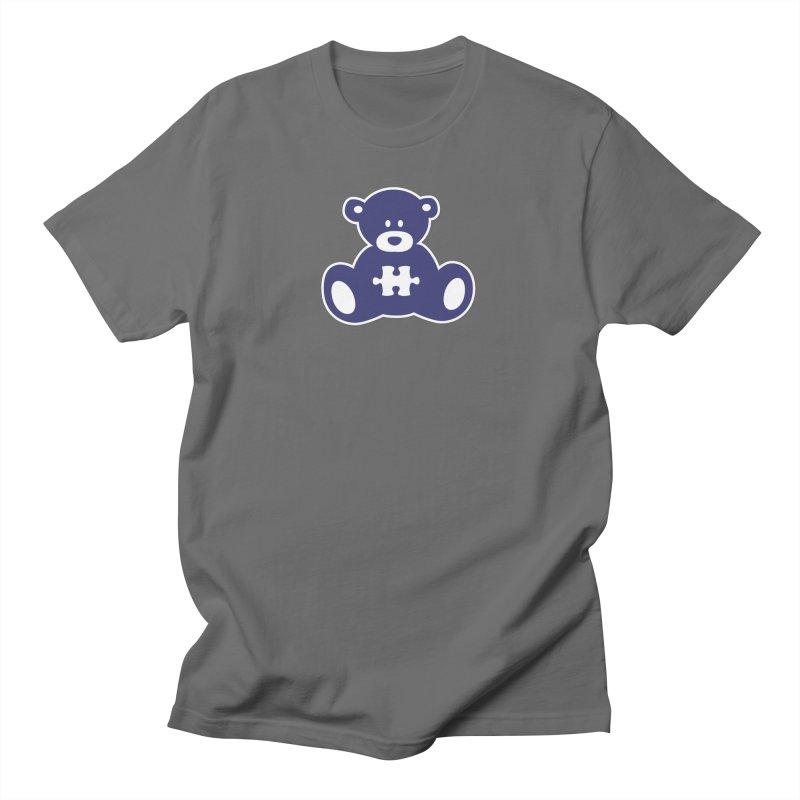 AutiBear Men's T-Shirt by #AutiWear   Arizona Autism's Merch Shop