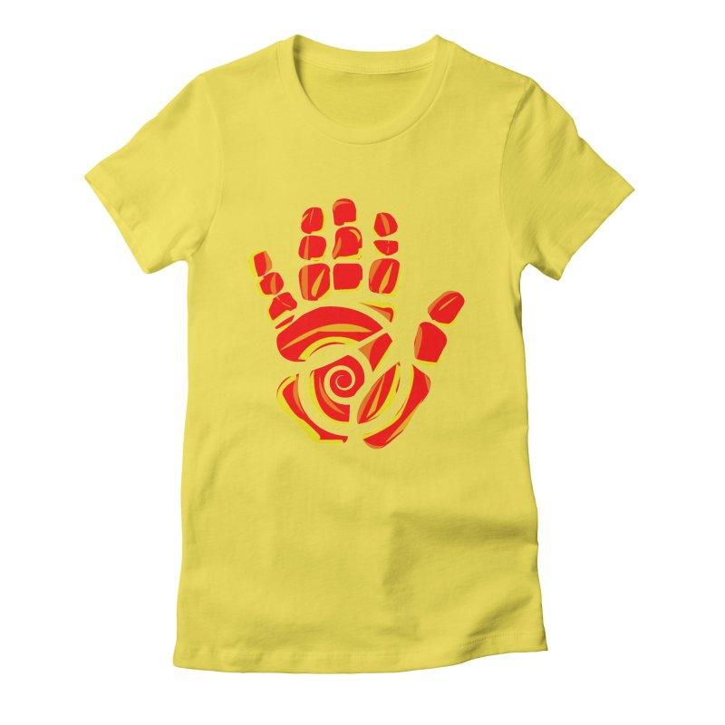 Aroha Comics Red/Orange logo Women's T-Shirt by Aroha Comics Artist Shop