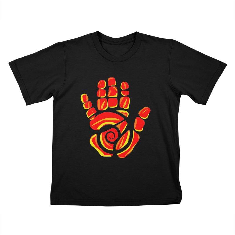 Aroha Comics Red/Orange logo Kids T-Shirt by Aroha Comics Artist Shop