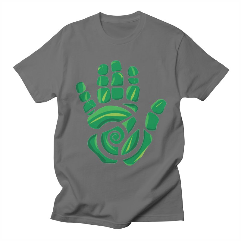 Aroha Comics Green logo Men's T-Shirt by Aroha Comics Artist Shop
