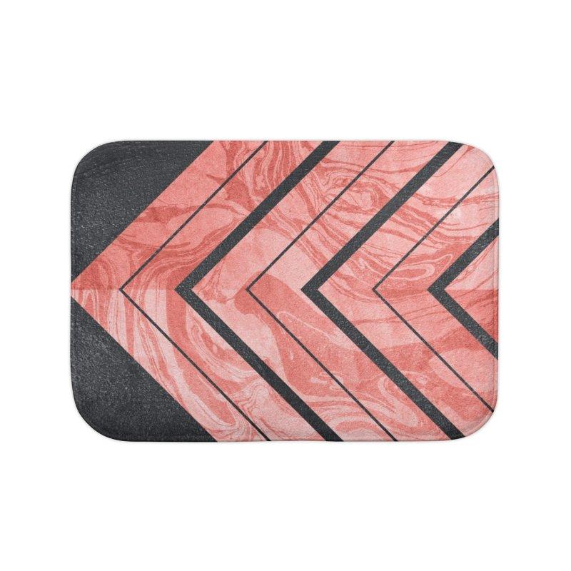 Geometric XXXXI Home Bath Mat by Art Design Works