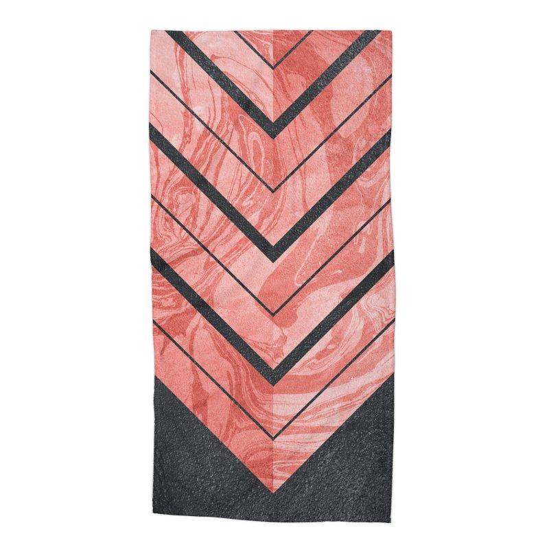 Geometric XXXXI Accessories Beach Towel by Art Design Works