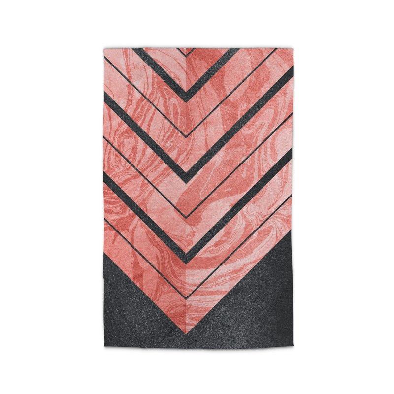 Geometric XXXXI Home Rug by Art Design Works