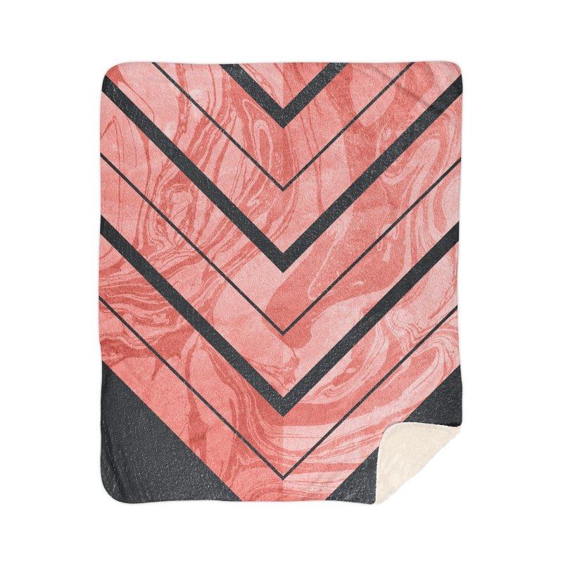 Geometric XXXXI Home Blanket by Art Design Works