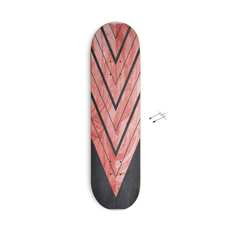 Geometric XXXXI Accessories Skateboard by Art Design Works