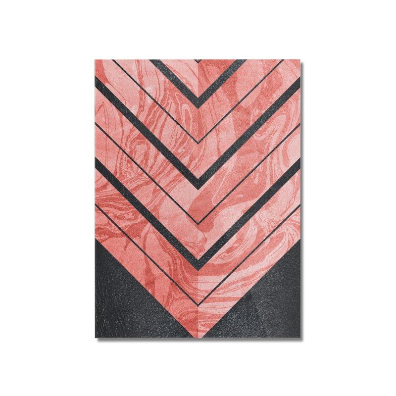 Geometric XXXXI Home Mounted Acrylic Print by Art Design Works