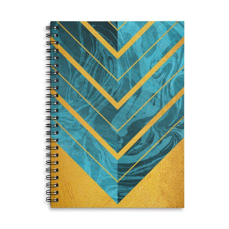 Geometric XXXXII Accessories Notebook by Art Design Works