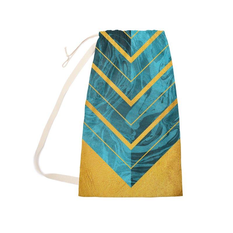 Geometric XXXXII Accessories Bag by Art Design Works
