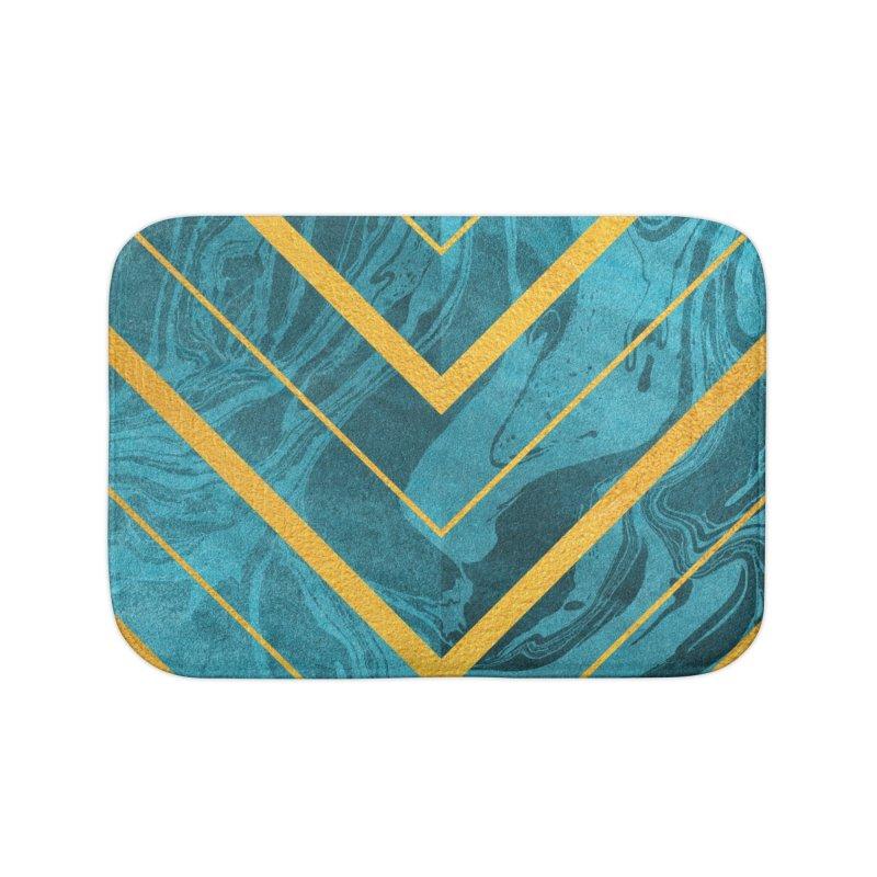 Geometric XXXXII Home Bath Mat by Art Design Works