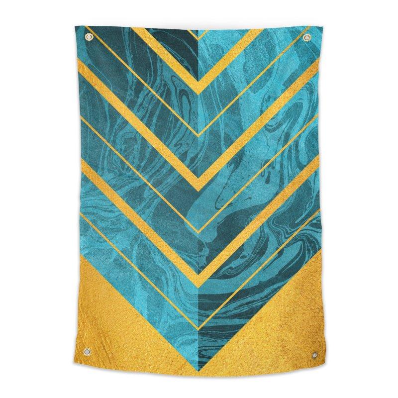 Geometric XXXXII Home Tapestry by Art Design Works