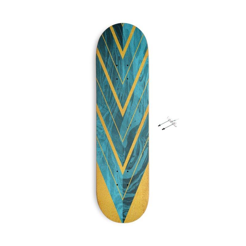 Geometric XXXXII Accessories Skateboard by Art Design Works
