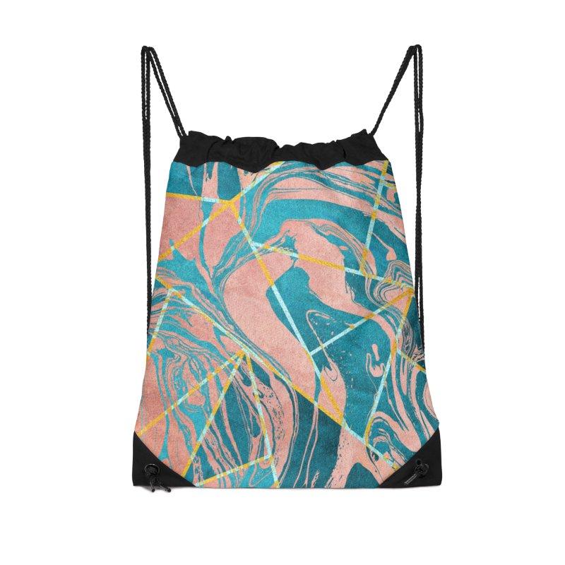 Geometric XXXXIII Accessories Bag by Art Design Works