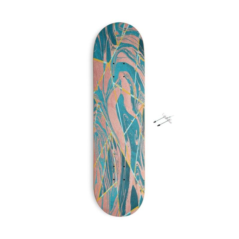 Geometric XXXXIII Accessories Skateboard by Art Design Works