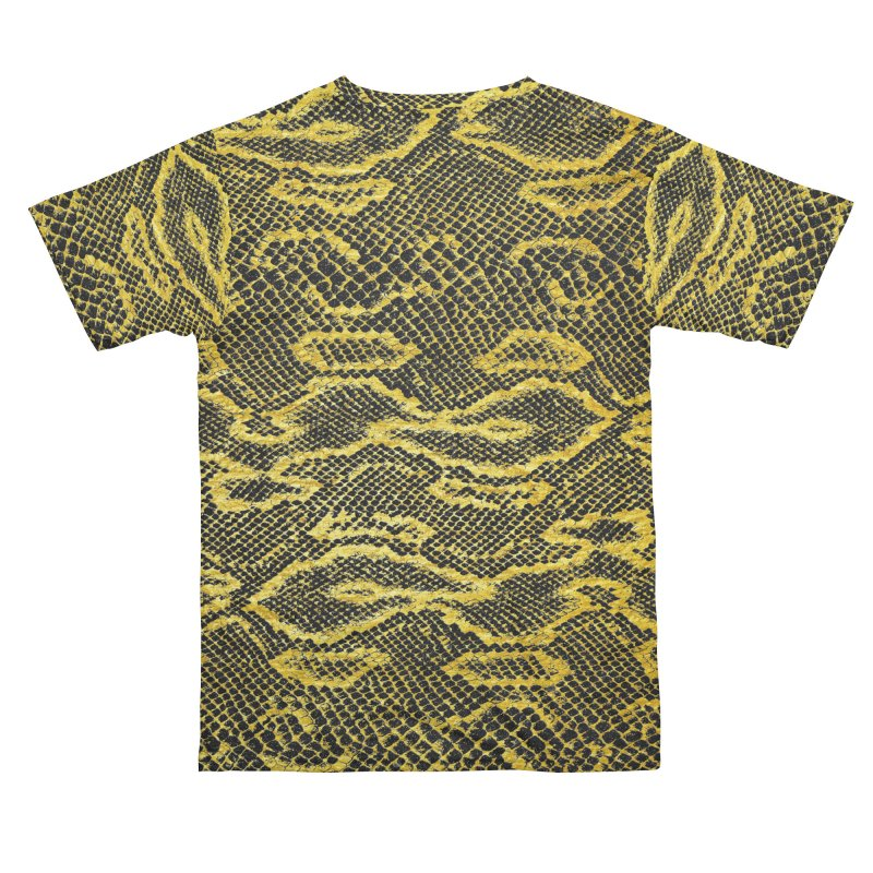 Black and Gold Snake Skin Women's Cut & Sew by Art Design Works