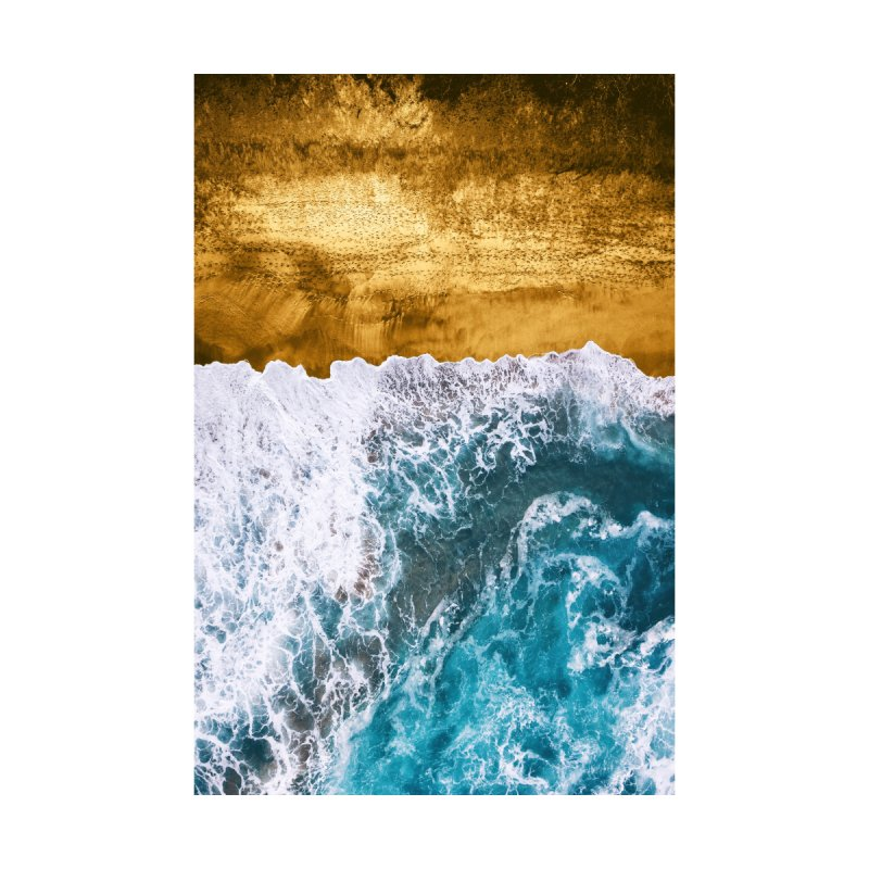 Tropical XVI - Golden Beach Home Mounted Acrylic Print by Art Design Works