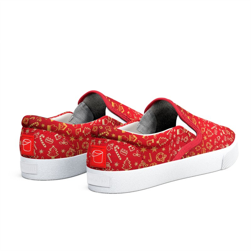 Christmas Pattern Women's Shoes by Art Design Works