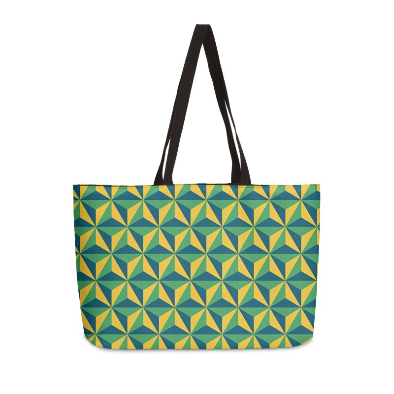 Geometric Pattern Accessories Bag by Art Design Works