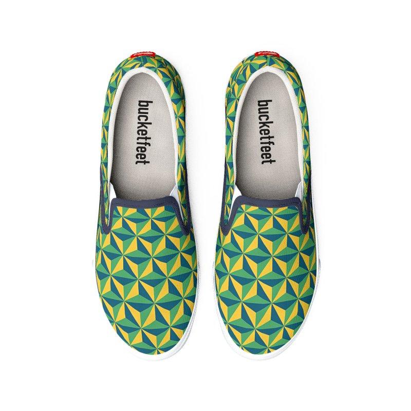 Geometric Pattern Women's Shoes by Art Design Works