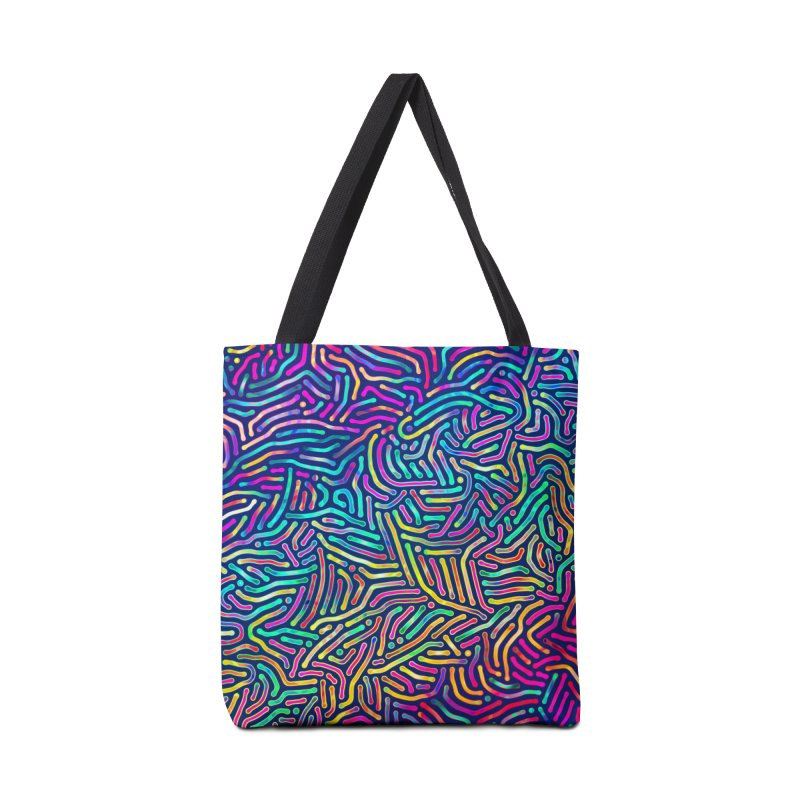 Colorful Pattern Accessories Bag by Art Design Works