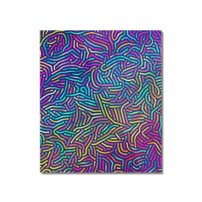 Colorful Pattern Home Mounted Acrylic Print by Art Design Works